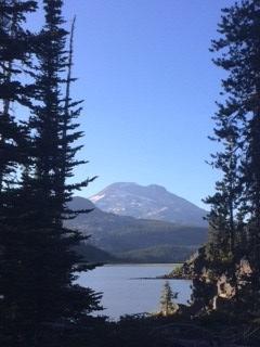 Lake Shot Cascades