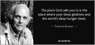 Buechner quote