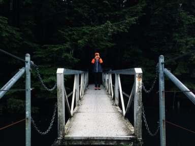 crossing a threshold